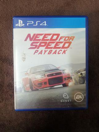 NFS Payback PS4