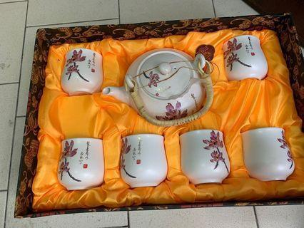 New Chinese Tea Set bought in Hong Kong