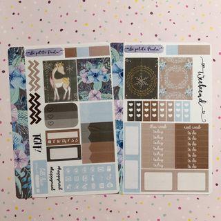 Christmas Personal Planner Kit