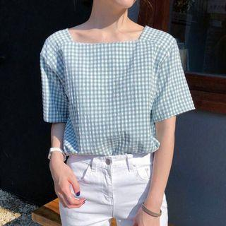 🤑 Gingham TOP
