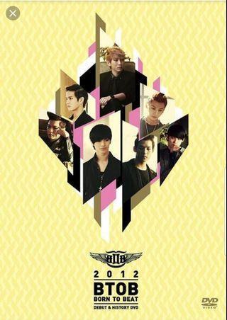 WTB/LF BTOB Debut & History DVD