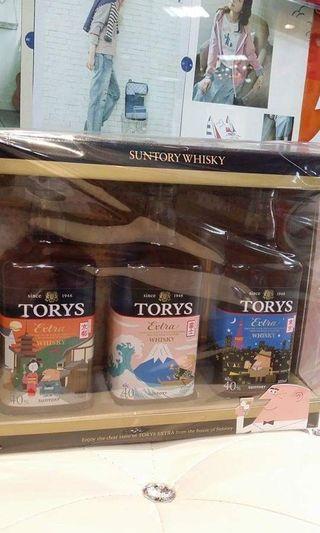 日本直送TORYS 威士忌 禮盒裝$ 799