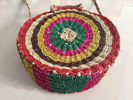 Native Abaca Sling Bag