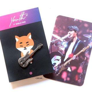 [WTB/Looking for] DAY6 YoungK Brass Badge #EST50