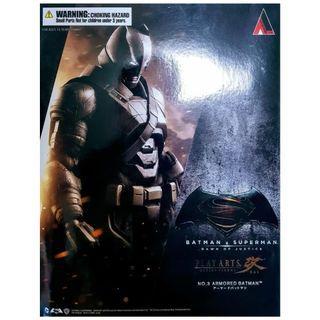 [ 全新未開封品 ] PLAYARTS PLAY ARTS KAI 改 BATMAN BAT MAN ARMORED NO. 03 重裝甲 蝙蝠俠