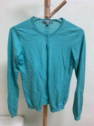 Uniqlo藍綠針織衫