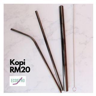 Metal straw ?black)