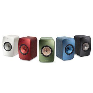 KEF LSX Wireless Powered Music System Speakers [READ DESCRIPTIONS]