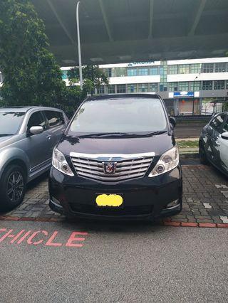 Cheapest Toyota Alphard Rental
