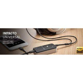 Beyerdynamic Impacto Universal DAC & Headphone Amplifier for Apple and Android Devices With Battery Pack