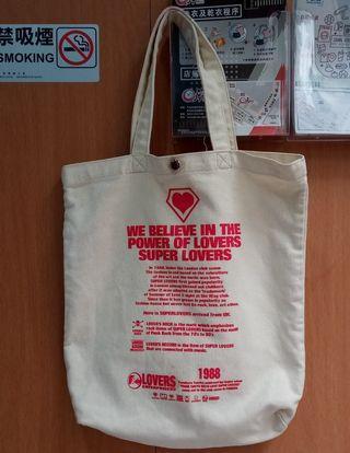 日牌 Super Lovers Tote Bag
