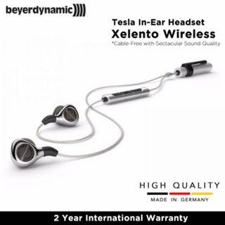 Beyerdynamic Xelento Wireless Audiophile Tesla in-ear Headset with Bluetooth Connection