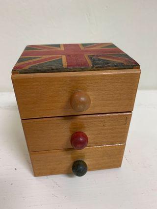 英倫仿舊首飾盒