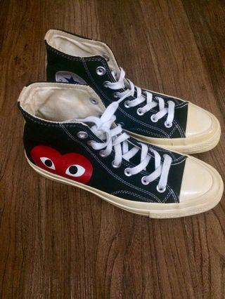 Comme des Garcons x chuck taylor All star
