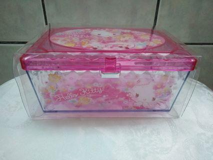 Hello Kitty壓克力收納盒
