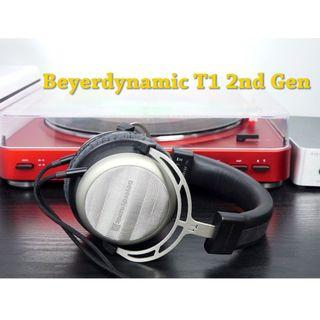 Beyerdynamic T1 2nd Generation Tesla Audiophile Over-Ear Headphones with Dynamic Semi-Open Design