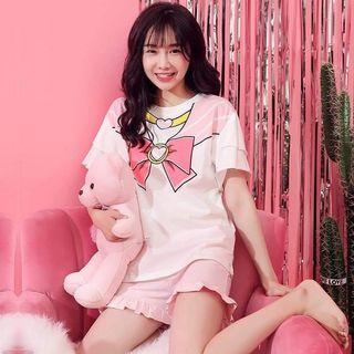 🚚 韓國可愛美少女戰士睡衣套裝