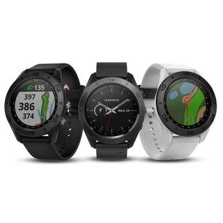 Garmin Approach S60 Golf GPS Watch / Garmin TruSwing Golf Club Sensor / Garmin Approach Z80 Golf Laser Range Finder / Approach CT10 Automatic Golf Club Tracking System
