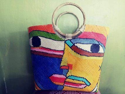 🚚 Banig bags or abaca bags