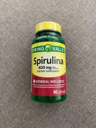 Spirulina Dietary Supplements