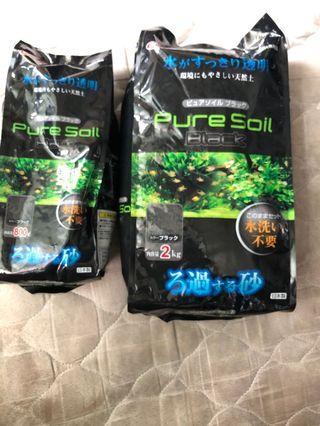 Fish pure soil
