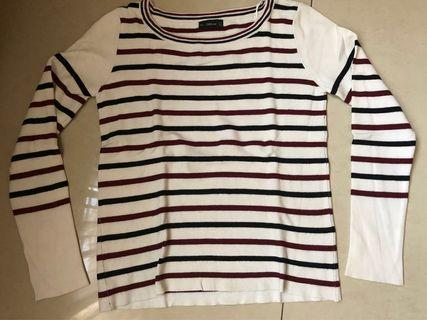 Zara sweater garis