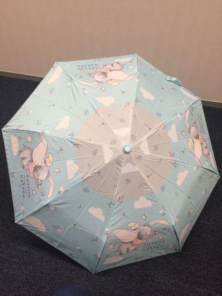 Disney Dumbo 小飛象 摺傘 縮骨遮 雨傘