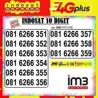 Nomor Cantik Indosat 10digit