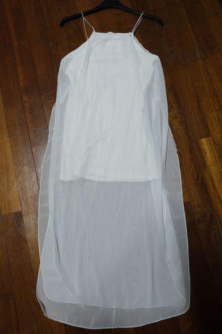 🚚 White Long Dress