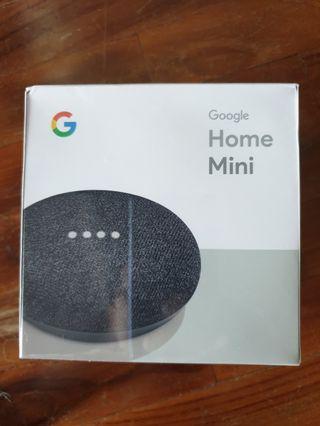 Google Home Mini - Charcoal (sealed)