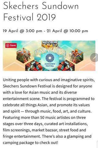 Skechers Sundown Festival 2019