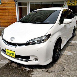 2010年Wish 2.0G頂級,一手車.認證車.全額貸.零頭款