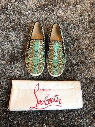 💯 authentic Christian Louboutin boat shoes. Size 38.5