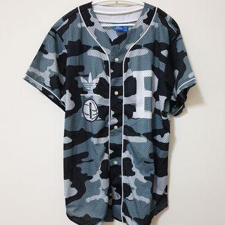 Adidas 迷彩 棒球衫