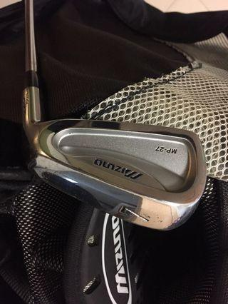 Golf Iron Set - Mizuno MP-27 Steel Shalf + Mizuno Golf Bag + 2 fairway wood (New Price)
