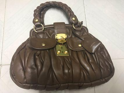 支持義賣!vintage miumiu bag
