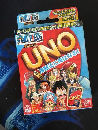 UNO One Pieces From Japan #EST50