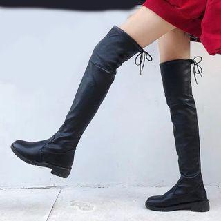 🚚 Size 38/39 Suede Thigh High Boots