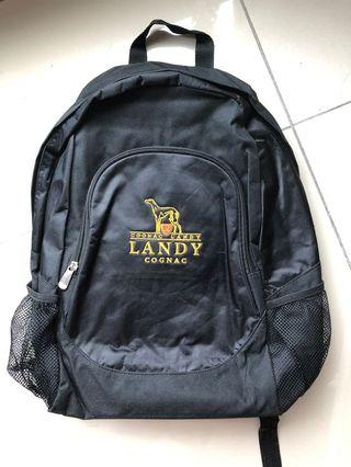 Medium size man backpack (Black)