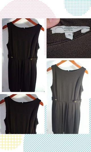 New Look Black-Big Size Dress EU 42