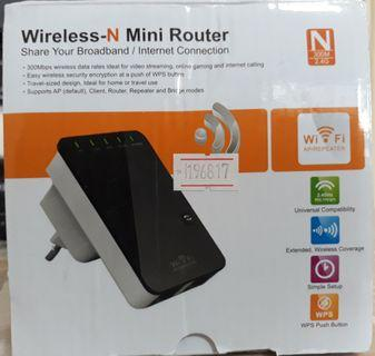 Wireless-N- Mini Router