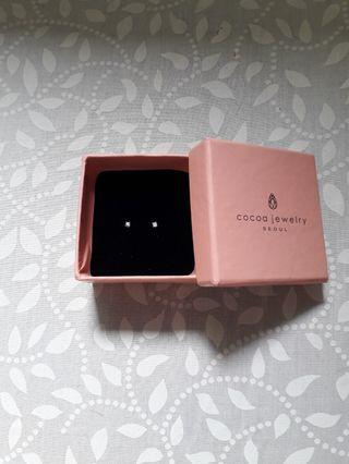 #CintaiBumi Cocoa Jewelry Earrings Silver