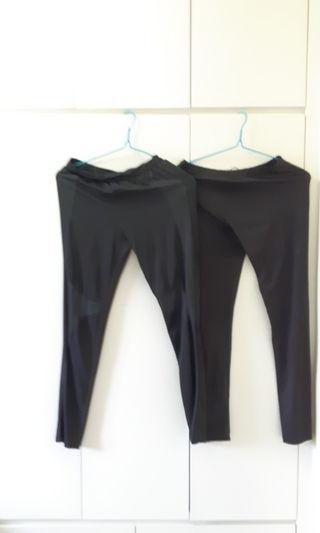 Woman black legging