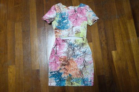 Fayth Colourful Bodycon Dress