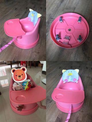 children training chair/dining table bed bell
