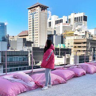 Zara Oversized puffer jacket #EST50