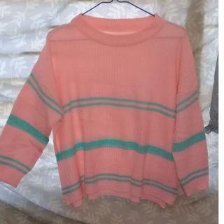 Sweter Rajut Pink