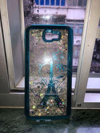 J7 prime glitter phone case