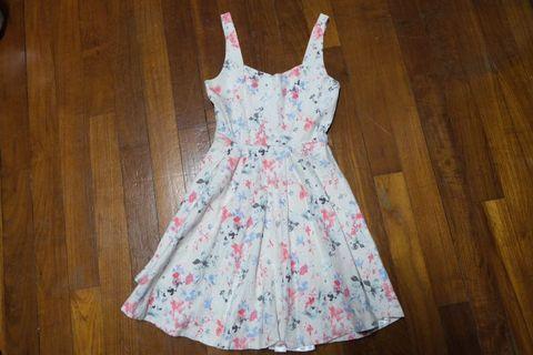 🚚 Light Pink Floral Dress