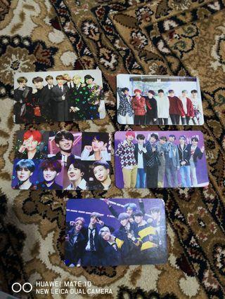 🚚 BTS Hologram Minicards